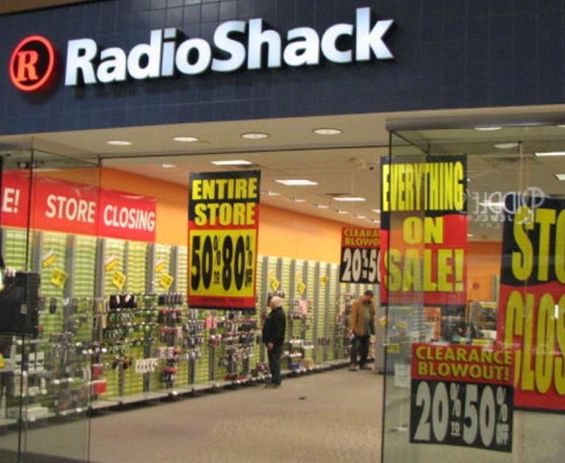 RadioShack Store Closing