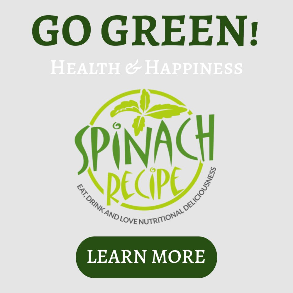 Eat Spinach Promo Banner