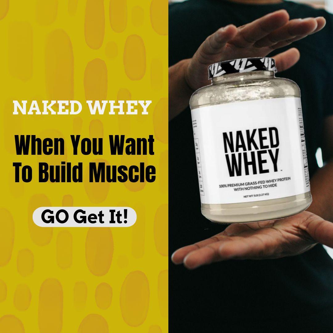 Naked Whey Website Banner